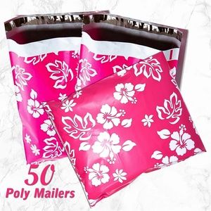 Other - 50 Flowers Poly Mailers 10x13 Shipping bag